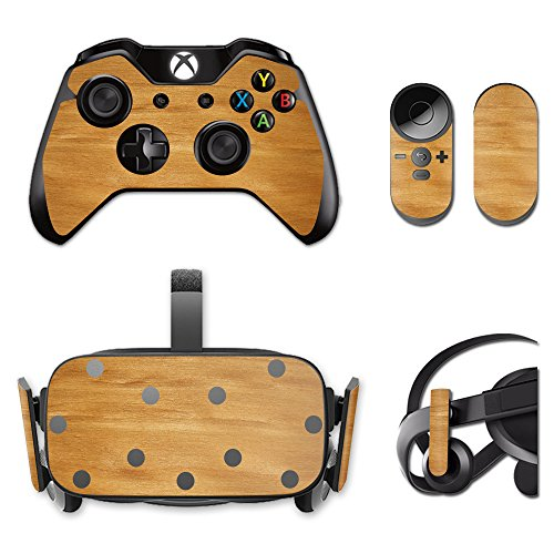MightySkins Protective Vinyl Skin Decal for Oculus Rift CV1 wrap Cover Sticker Skins Birch Grain from MightySkins