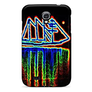 New Style Tpu S4 Protective Case Cover/ Galaxy Case - Neon Sailboat