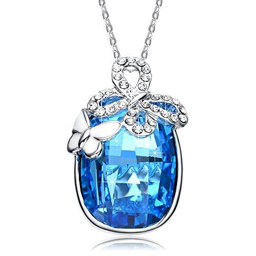 Christmas-Deals-Get-10-Off-with-CodeH9KQ6ZXJ-NEEMODA-Butterfly-Fairy-Austrian-Crystal-Pendant-Necklace-with-Deluxe-Gift-Box-Triple-Gold-Plated