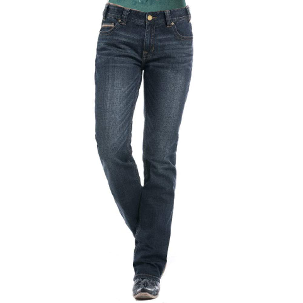 Rock /& Roll Cowgirl for The Ride Boyfriend Jeans 24 x 32 Denim