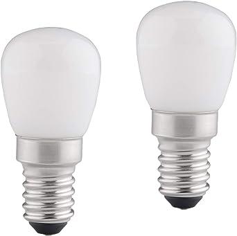 B4U Bombilla LED E14, 2W (Equivalente a 15W), 210 Lumen Luz blanca ...