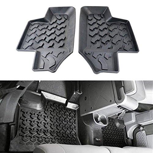 jeep wrangler floor mats 2 door - 2