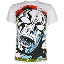 Marvel Comics Silver Surfer Shout Out Mighty Fine Adult T-Shirt Tee