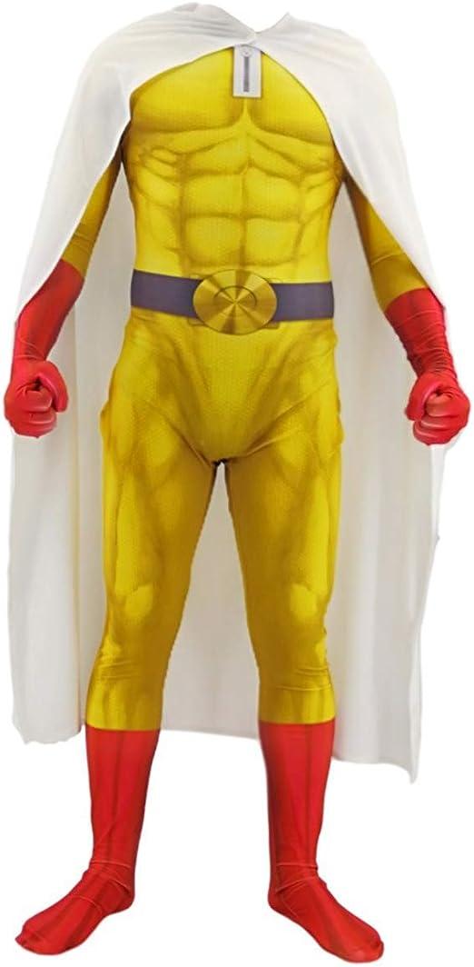 YUW Punch-Man Disfraz de Cosplay Niños Adultos Disfraces Ropa ...
