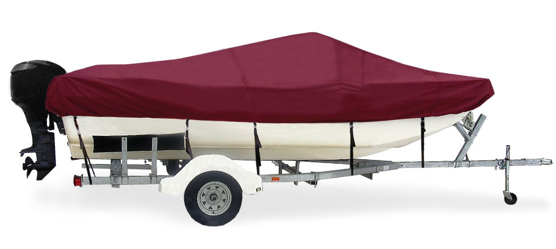 Taylor Made Products Trailerite Semi-Custom Boat Cover for Tri-Hull Boats with Inboard//Outboard Motors