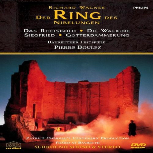 Wagner - Der Ring des Nibelungen / Patrice Chéreau - Pierre Boulez, Bayreuth Festival (Complete Ring Cycle) by Umvd Labels