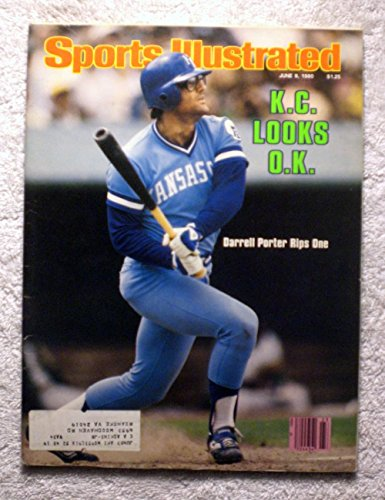 - Darrell Porter - Kansas City Royals - Sports Illustrated - June 9, 1980 - SI-2