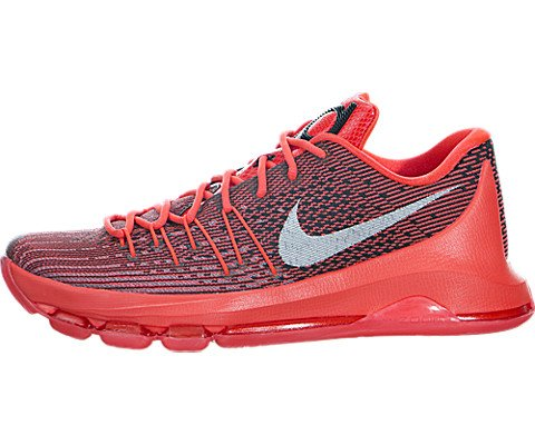 701ad78e1b26 Galleon - Nike Men s KD 8 Bright Crimson White Black Basketball Shoe 12 Men  US