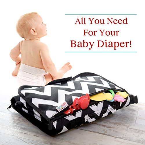 diaper changing pad holder bag station pad change clean your baby on the go toddler travel. Black Bedroom Furniture Sets. Home Design Ideas