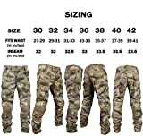 ZAPT Army Military Equipment Hunting Hiking Airsoft Paintball Shooting BDU Pants Combat Tactical Pants with Knee Pads