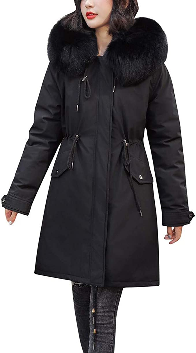 2020 Winter Women's Down Coat New Clothes Cotton Padded Thickening Down Winter Coat Long Jacket Down Parka(5XL) | Wish