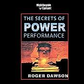 The Secrets of Power Peformance   Roger Dawson