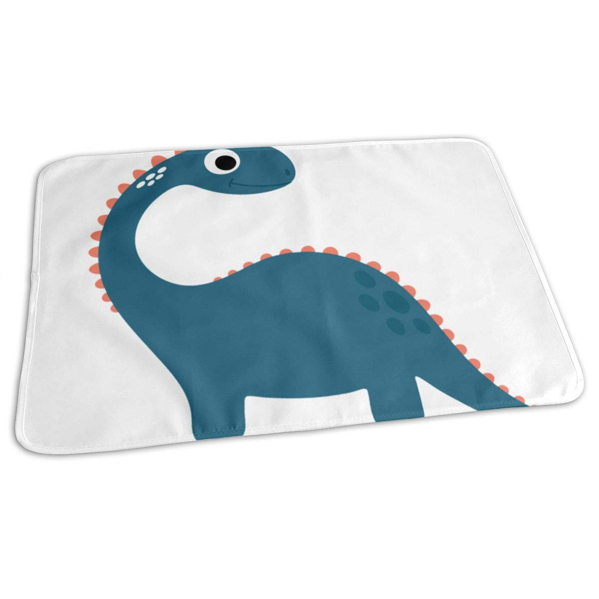 Osvbs Lovely Baby Reusable Waterproof Portable Cartoon Dark Blue Banded Dragon Changing Pad Home Travel 27.5''x19.7'' by Osvbs