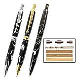 Legacy Woodturning, Power Pen Kit Starter Pack with Bushings, Hurricane M42 Cobalt Drill Bit, Pen Kits, Wood Pen Blank Sampler Pack