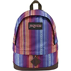 JanSport Beatnik Backpack (Vivid Purple/Acapulco/Ombre Stripe)