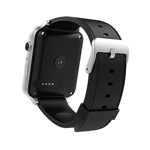 OAK Smartwatch, Bluetooth Smart Watch with Information Synchronization Heart Rating Pedometer Sedentary Remind Sleep Monitoring (Gold) (Sliver)