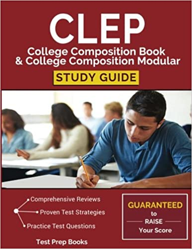 com clep college composition book college composition  clep college composition book college composition modular study guide test prep practice questions practice prompts