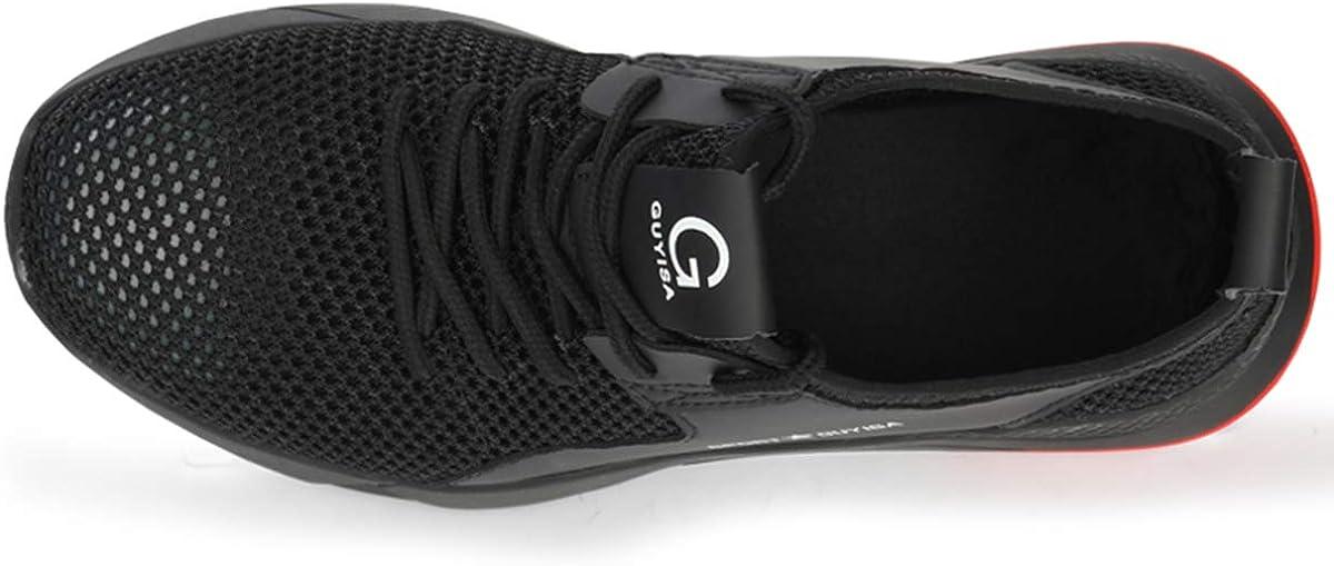 CIZEUR Arbeitsschuhe Herren Damen Sicherheitsschuhe Stahlkappe Leicht Schutzschuhe Comfort Rutschfest Sportlich Hiking Sneaker