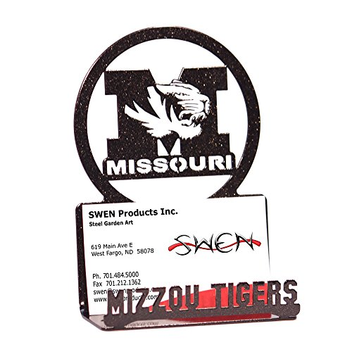 Missouri Tigers Business Card Holder - SWEN Products MISSOURI TIGERS Business Card Holder