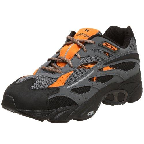 Aetrex Men's Z783M Sedona Trail Runner,Black/Orange,9 M