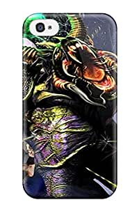 New Style Tpu 4/4s Protective Case Cover/ Iphone Case - Creature Fantasy Abstract Fantasy
