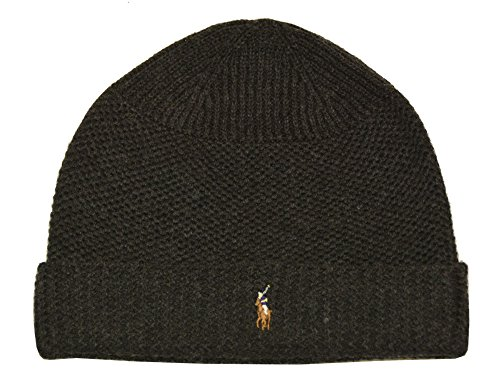 n Merino Wool Thermal Stitch Hat (OS, Dark Granite) ()