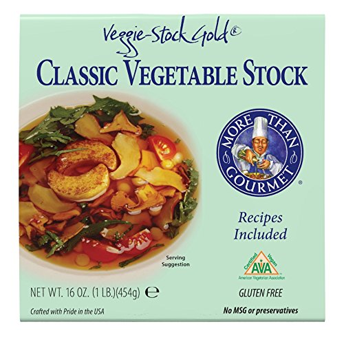 More Than Gourmet Veggie-stock Gold; Vegetable Stock, 16-Ounce Packages (Veggie Stock)