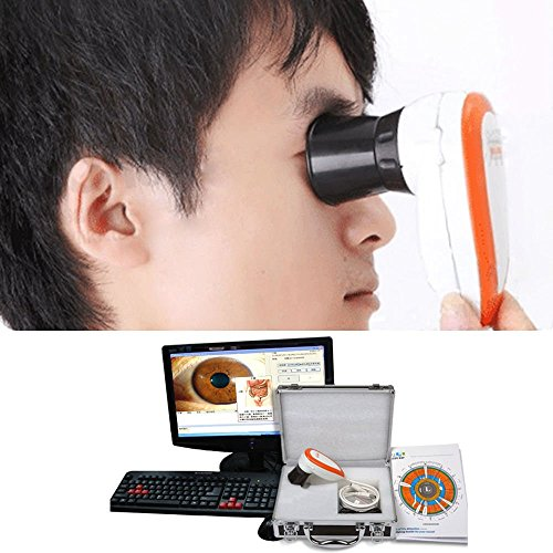 Emperor Iris - 5.0 MP High Resolution CCD USB Iriscope - Eye Camera Iriscope with 30X Iris Lens and Analysis Software by Emperor of Gadgets
