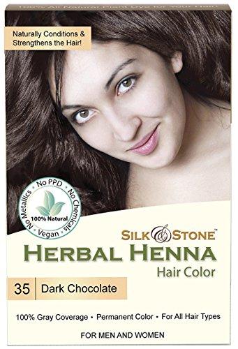 Herbal Henna Hair Color #35: Dark Chocolate (Dark ()