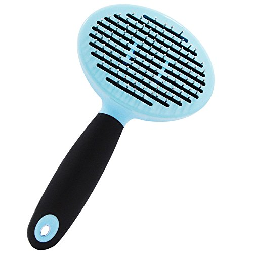 Acekit Pet Slicker Brush Grooming Tool Health Improving Care For Cats Dogs Rabbits With Short Hair/Long Hair