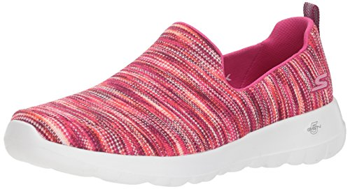 Skechers Performance Women's Go Walk Joy-15615 Sneaker,pink/multi,9 M US