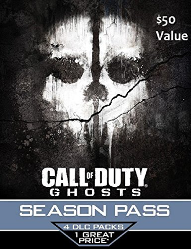 Call of Duty Ghosts Season Pass Card - Playstation 4 & Playstation 3 by Sony