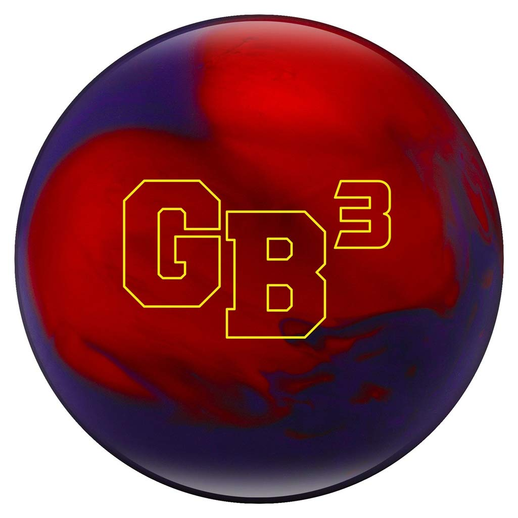 Ebonite Game Breaker 3 Pearl Bowling Ball, Size 10.0, Purple/Red
