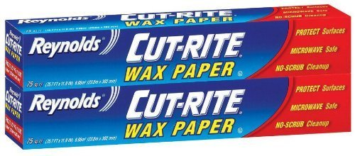 Wax Paper Roll - Reynolds Wrap Cut-Rite Wax Paper - 75 sq ft - 2 pk