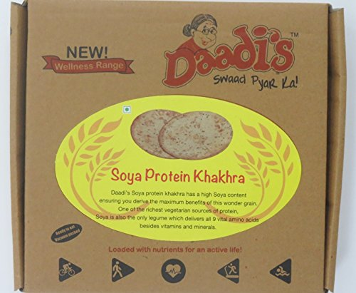 Daadi's Protein Khakhra, Soya, 200g (Pack of 2)