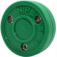 Snipe Green Biscuit ShootingTraining Puck