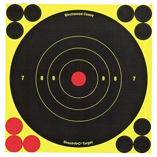 Birchwood Casey Shoot-N-C 6-Inch Round Target (60 Sheet Pack) (2 PACK) from Birchwood Casey