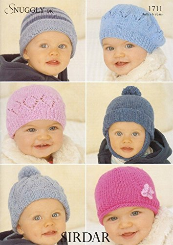 Sirdar Snuggly DK Baby Knitting Pattern 1711 by Sirdar by Sirdar