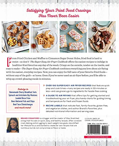 The Super Easy Air Fryer Cookbook: Crave-Worthy Recipes for Healthier Fried Favorites 2