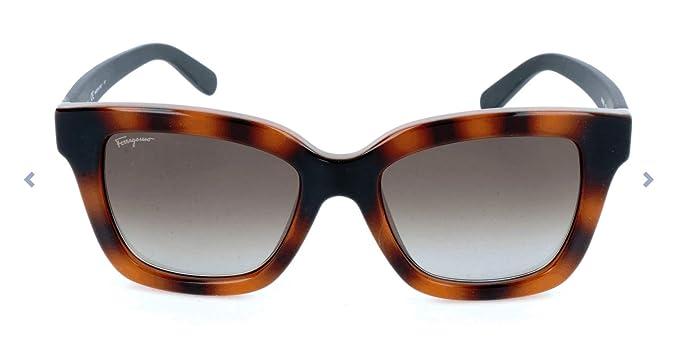 Ferragamo SF858S Gafas de Sol, Multicolor (Mehrfarbig), 53.0 ...