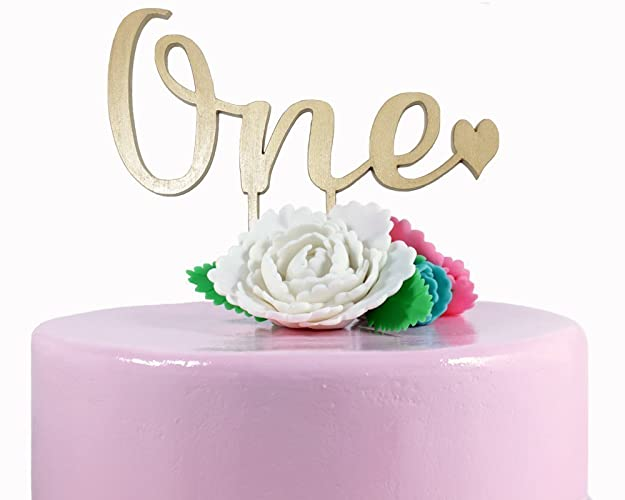 Amazon One Cake Topper 1st Birthday Cake Topper Party