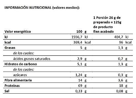 Body Genius PROTEIN FLAN. Preparado para flan protéico de chocolate. Con Stevia y sin azúcares o polialcoholes añadidos. 275gr.