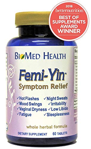 - Femi-Yin Menopause Relief, 60 Tablets (2 Pack) by Biomed Health