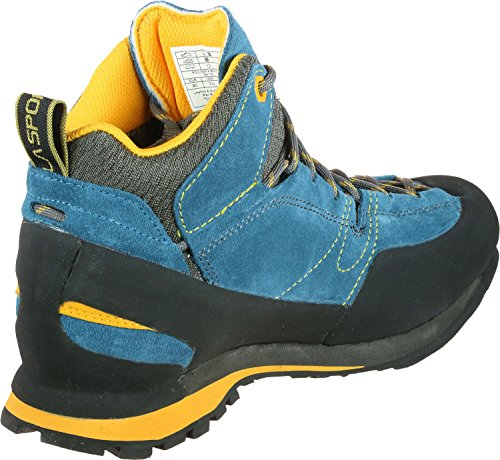 La Sportiva Mannen Gemakkelijk Dwalen Schoen Kei X Mid Gtx Blauw Geel