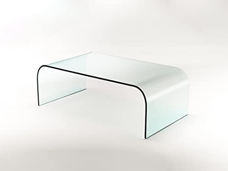 GROUP DESIGN tavolino per salotto Nashville vetro trasparente ...