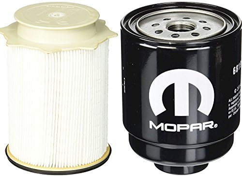 Oil Diesel Fuel (Dodge Ram 6.7 Liter Diesel Fuel Filter Water Separator Set Mopar OEM)