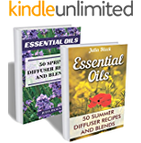 Essential Oils: 100 Spring and Summer Diffuser Recipes and Blends