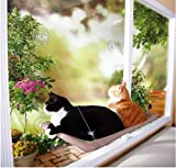 ZMG Cat Perch Window-mounted Cat Bed Cat Sunny Seat Pet Bed Hammock by ZMG