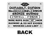 Durabilt Snatch Blocks 2 Ton with Swivel Hook