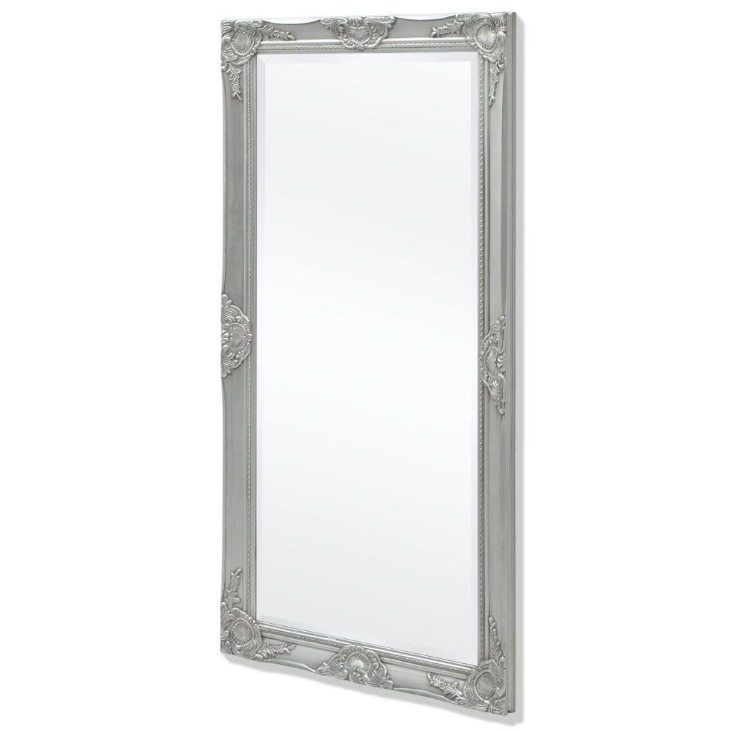 vidaXL Espejo de Pared Estilo Barroco 120x60 cm Blanco Espejo Vintage Retro SAFERS-HÜLLE-2544